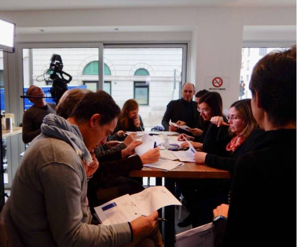 Workshop with Regional Stakeholders @ Trieste Novembre 2017